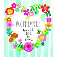 Acceptance Heart of Flowers