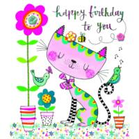 Happy Birthday to You Cat