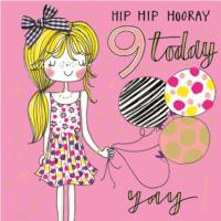 Hip Hip Hooray 9 Today!