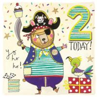 Pirate Bear 2nd Birthday