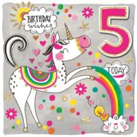 5th Unicorn Birthday
