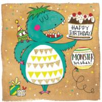 Monster Birthday Wishes
