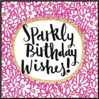 Sparkly Birthday Wishes!
