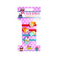 Hair Bobbles - Girls/Cupcakes