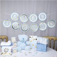 Baby Shower Blue Bunting
