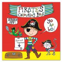 Square Colouring Book - Pirate