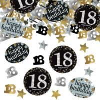 Sparkling Celebration Age 18 Confetti
