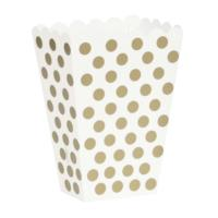 Gold Polka Dot Treatholder