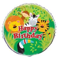 Animal Jungle Foil Balloon