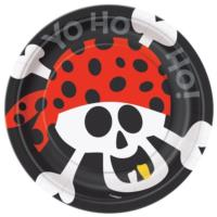 Pirate Fun Dessert Plates 7