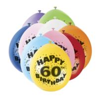 Assorted Happy 60th Birthday Balloons