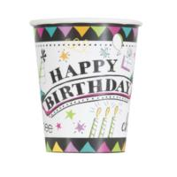 Doodle Birthday Cups