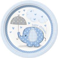 Umbrellaphants Blue Plates 9