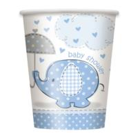 Umbrellaphants Blue Cups