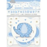 Umbrellaphants Blue Jointed Banner