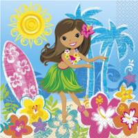 Hula Beach Party Napkins