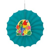Tropical Island Luau Party Fan Decoration