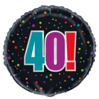 40th Birthday Cheer Foil Balloon