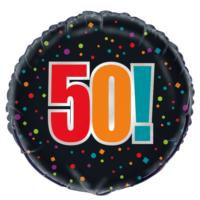 50th Birthday Cheer Foil Balloon