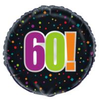60th Birthday Cheer Foil Balloon