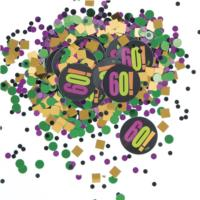 60th Birthday Cheer Confetti