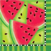 Summer Watermelon Party Napkins