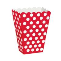 Ruby Red Dot Treat Boxes