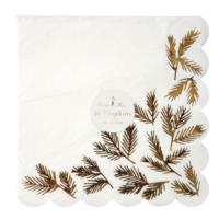 Gold Pine Large Napkin