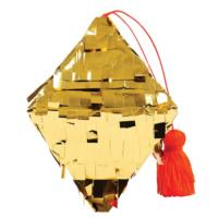 Gold Diamond Mini Pinata Decoration