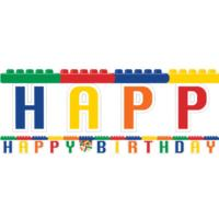 Lego Blocks Party Letter Banner