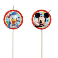 Mickey Mouse Drinking Straws