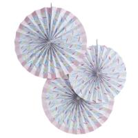 Sprinkles Paper Fan Decorations