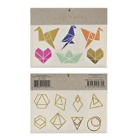 Origami Shape Tattoos