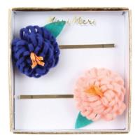 Flower Posy Hair Pins