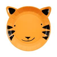 Go Wild Small Tiger Plate