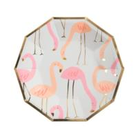 Flamingo Pattern Plates