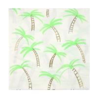 Palm Trees Napkins Large