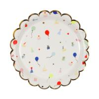 Party Icon Plates Small