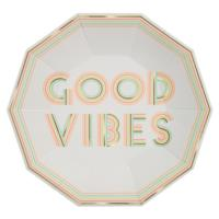 Good Vibes Plates Large