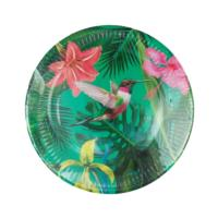 Tropical Fiesta Medium Bright Plates