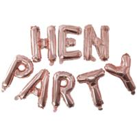 Hen Party Balloon Bunting
