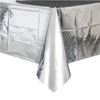 Foil Silver Table Cover
