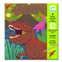 Dinosaurs Reigned Scratch Cards