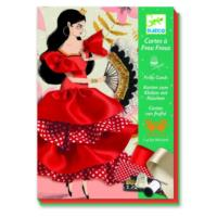Flamenco Frilly Cards