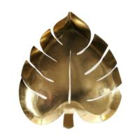 Palm Leaf Gold  Plate