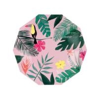 Pink Tropical Small Plate