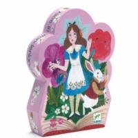 Alice in Wonderland Silhouette Puzzle