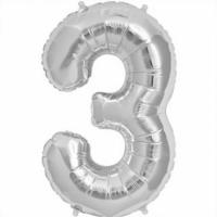 Number 3 Balloon -34
