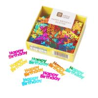 Rainbow Happy Birthday Foil Scatter